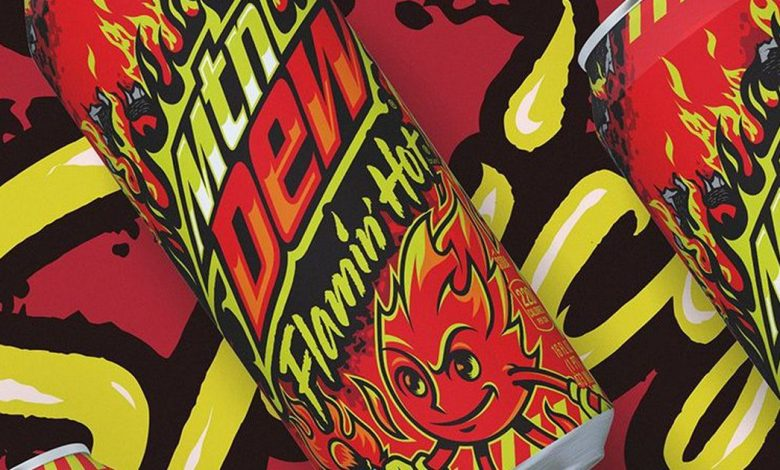 Flamin' Hot Mountain Dew coming to torch your taste buds