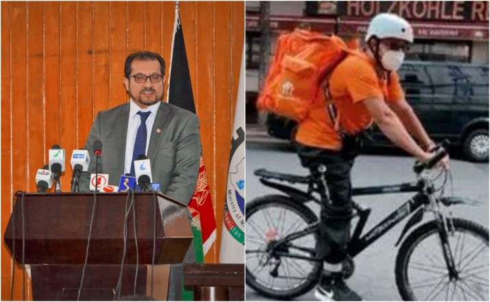 Former Afghanistan minister, who left country fearing