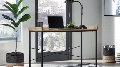 Go minimalist with this $81 office desk