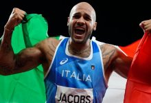 Italy's Lamont Marcell Jacobs takes surprising gold in Olympic 100-meter race