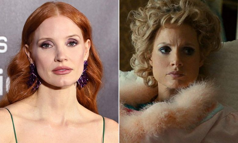 Jessica Chastain Reveals 'Heavy' Makeup for Tammy Faye Movie Did 'Permanent Damage to My Skin'