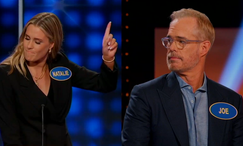 Joe Buck goes against his family on 'Celebrity Family Feud'