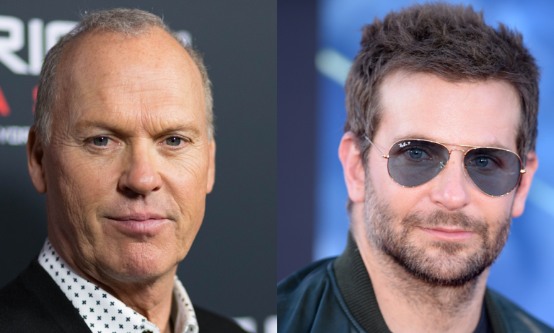Michael Keaton gaffe leads to fun moment with Bradley Cooper