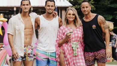 Miranda Lambert's husband and his brothers show their abs in her 'Tequila Does' remix video