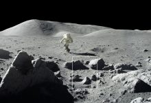 Moon Is Covered With Craters and Rocks