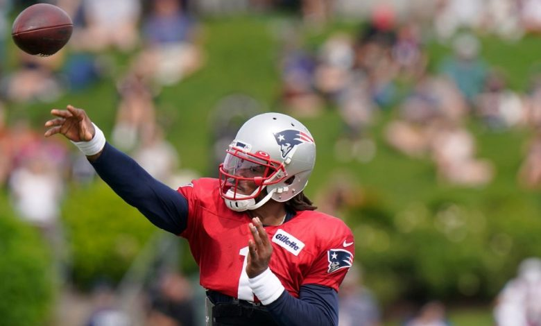 NFL training camp updates - Cam Newton and Derek Carr shine, pads come on, more