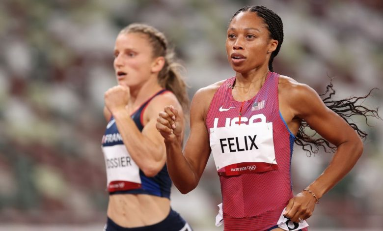 Olympics 2021 live updates - Allyson Felix will race for gold, Sydney McLaughlin breaks own world record