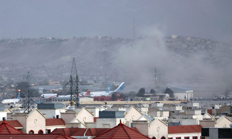 People stranded after bombing at Kabul airport