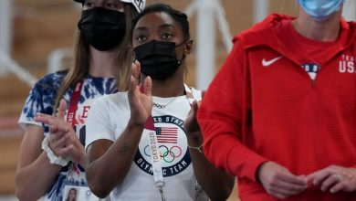 Simone Biles coming back to compete in beam final