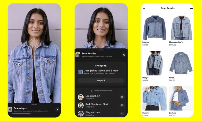 Snapchat brings visual search to the fore with Scan