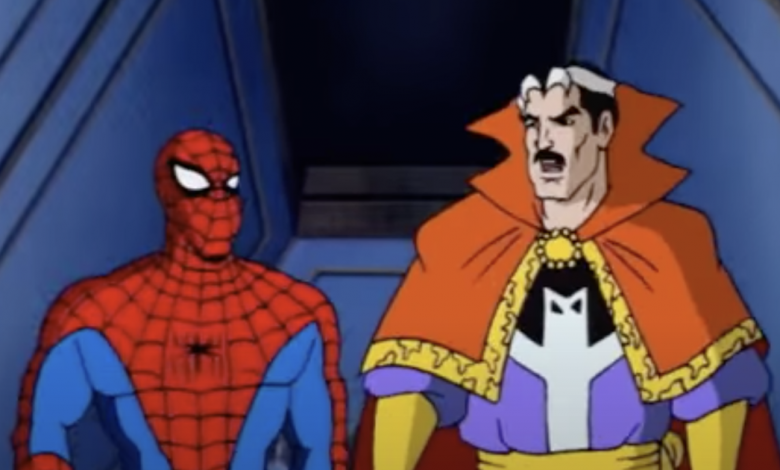 Someone made a '90s cartoon version of the Spider-Man trailer