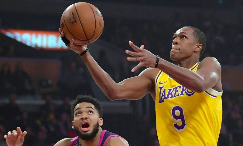 Sources -- Rajon Rondo plans to rejoin Los Angeles Lakers on 1-year deal worth $2.6M