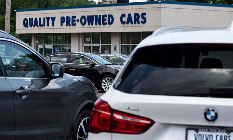 Used car high prices may finally be dropping