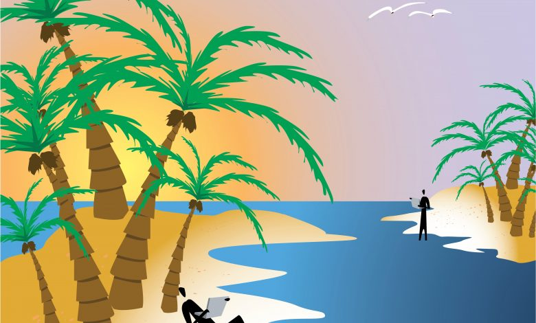 Which Caribbean islands are open only to vaccinated travelers?