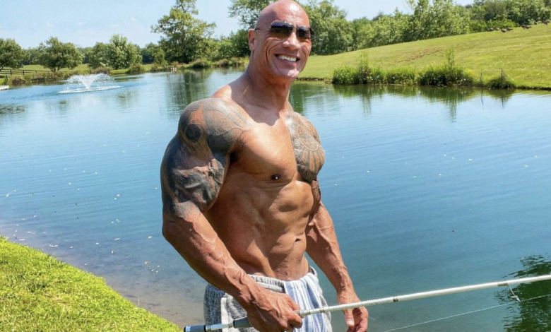 Why Dwayne Johnson doesn't have 'perfect abs'
