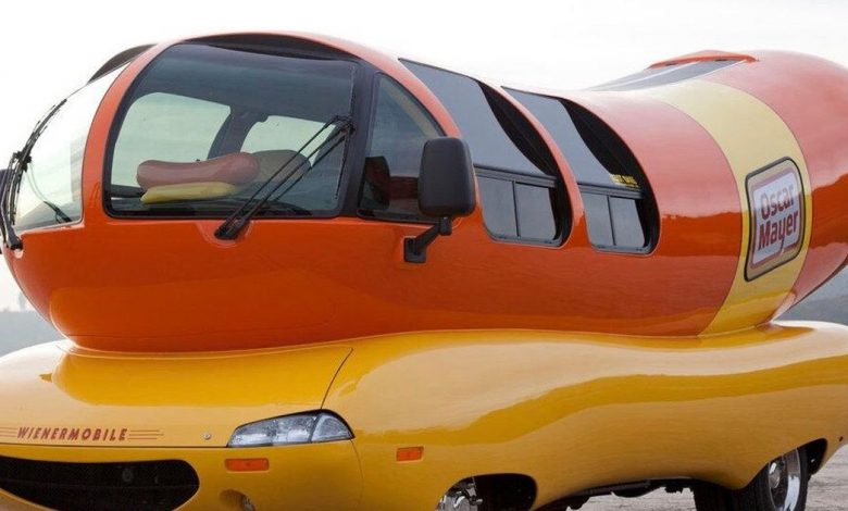 Your next Lyft ride could be in a giant hot dog on wheels