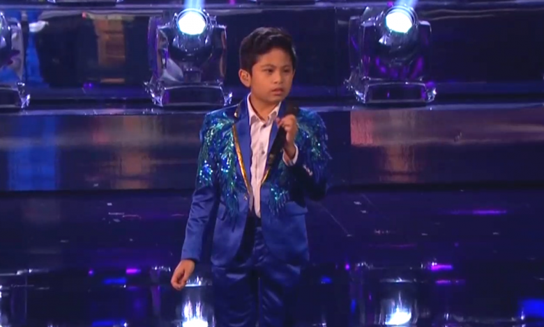 10-year-old flubs song, and totally redeems himself on 'AGT'