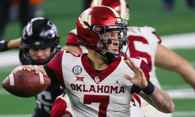 Oklahoma's Spencer Rattler is the top quarterback prospect for the 2022 NFL draft.