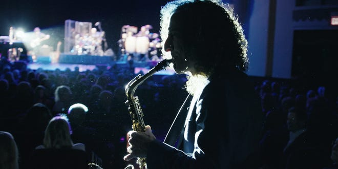 """Kenny G pulls out his alto sax for a change in the new HBO documentary """"Listening to Kenny G."""""""