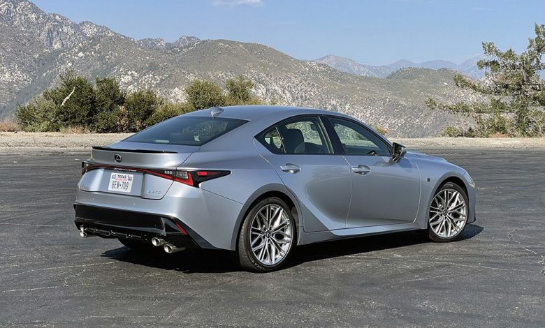 2022 Lexus IS 500 offers V8 power for $62,075