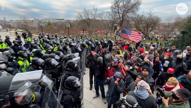 The complaint alleges they provoked violence to stop Congress from certifying the results of the 2020 presidential election on Jan. 6.
