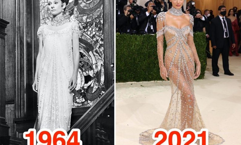 9 celebrities who paid tribute to Hollywood icons with their 2021 Met Gala looks