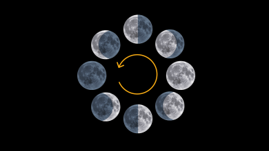 A visual guide to the harvest moon and other full moons