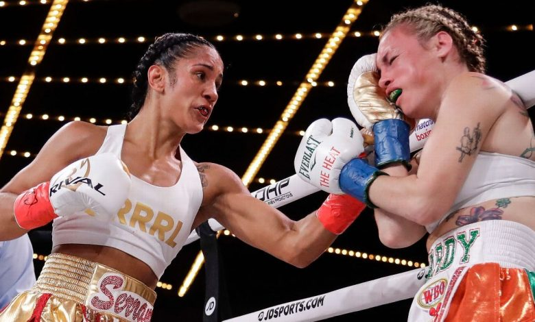 Amanda Serrano signs with Jake Paul's Most Valuable Promotions