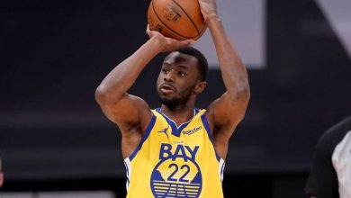Andrew Wiggins won't be able to play in Warriors home games until he meets the city of San Francisco's vaccine requirements.