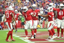 Arizona Cardinals QB Kyler Murray scrambles, finds Rondale Moore for 77-yard touchdown