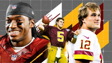 As the Washington Football Team's QB quest enters Year 29, ESPN Analytics ranks its past 30 starters