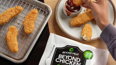 Beyond Meat chicken tenders to debut in grocery stores next month