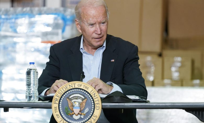 Biden seeking additional funds for Ida relief and Afghans