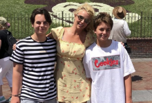 Britney Spears shares a rare glimpse into the lives of sons Sean Preston, 16, and Jayden James, 15