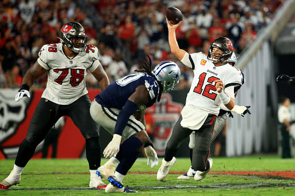 Bucs vs. Cowboys game wasthe highest viewed NFL opener since 2015