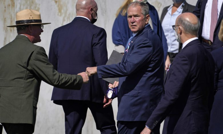 Bush warns of domestic extremism, appeals to 'nation I know'