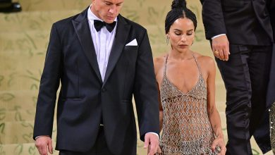 Channing Tatum and Zoe Kravitz cuddle up at Met Gala afterparty