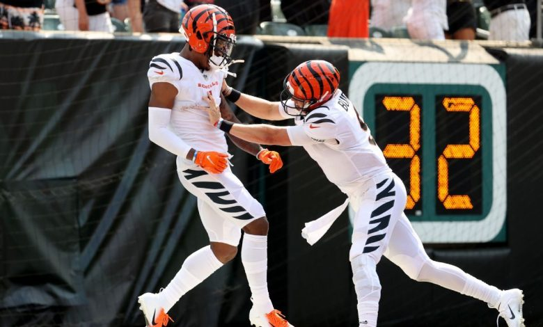 Cincinnati Bengals' Ja'Marr Chase puts drops in past with big NFL debut in victory over Minnesota Vikings