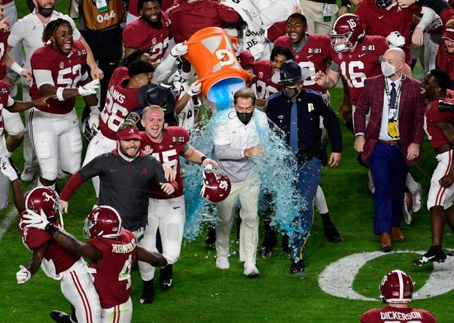 Defending national champion Alabama has a pretty weak schedule other than a matchup against the Miami Hurricanes in Atlanta.