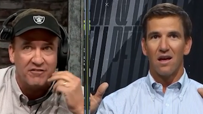 'Eli, what'd you do?' Five things we learned from Peyton & Eli's Monday Night Football telecast