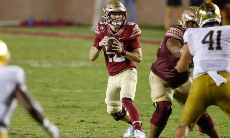 Florida State's McKenzie Milton leads 4th-quarter TD drive in first game action since devastating leg injury