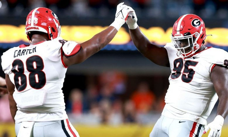 Georgia jumps to No. 2 in AP Top 25; Clemson football tumbles out of top four for first time since 2017