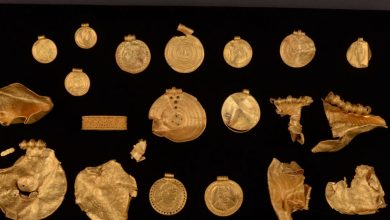 Gold rush! First-time metal-detector user uncovers 6th century golden hoard