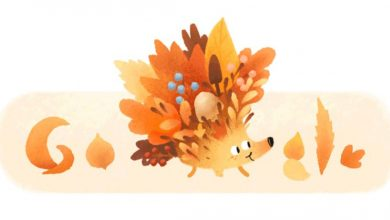 Google Doodles welcome first day of autumn (and spring)