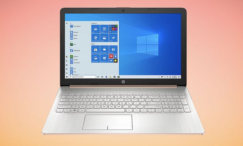 HP Touch Laptop is on sale at QVC for Labor Day 2021