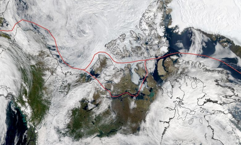 Ice Persists in the Northwest Passage, Despite Global Warming