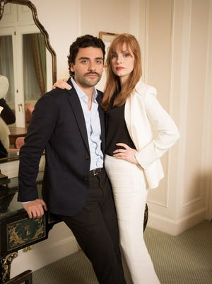 """Oscar Isaac and Jessica Chastain played husband in wife in """"A Most Violent Year."""""""