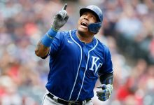 Kansas City Royals' Salvador Perez breaks Johnny Bench's catcher record with 46th HR