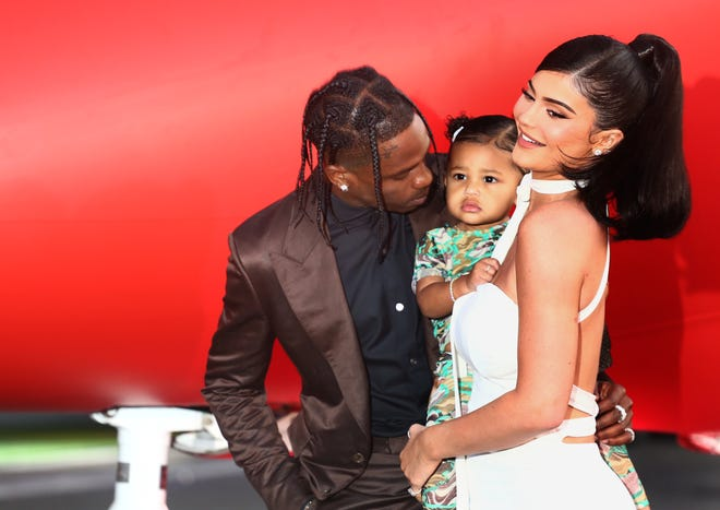 Kylie Jenner and rapper Travis Scott named their daughter Stormi.