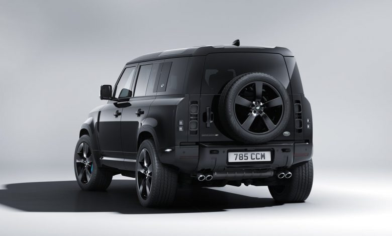 Land Rover Defender V8 Bond Edition celebrates the release of No Time to Die     - Roadshow